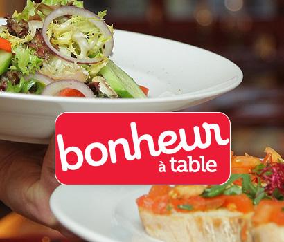 Bonheur a table